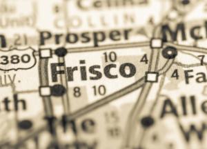 Frisco Texas map