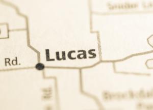 Lucas Texas map