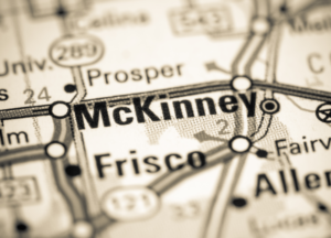 McKinney Texas map