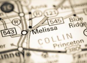 Melissa Texas map
