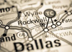 Rockwall Map