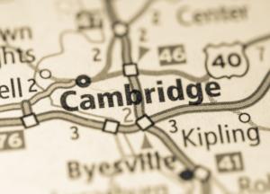 Cambridge Ohio map