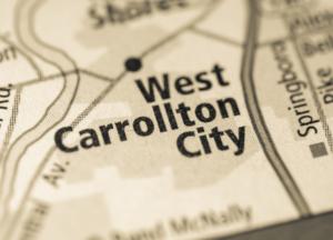 West Carrollton City Ohio map