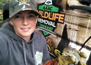 Carolina Wildlife Removal professional removing pest animal