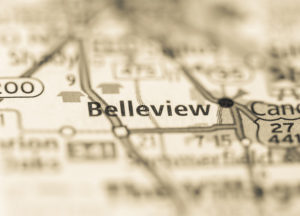 Photo of a map of Belleview