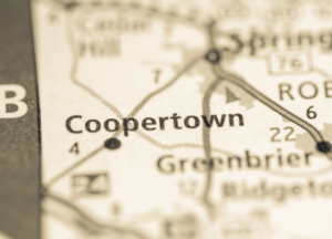 Coopertown on map