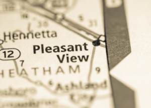 Pleasant View on map