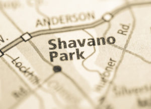 Photo of a map of Shavano Park