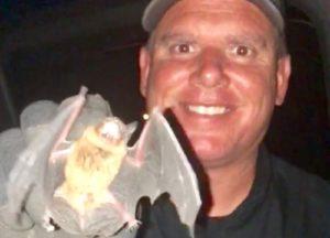 Man holding a bat