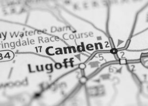 Photo of a map of Camden