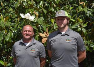 Jim and Caleb, Wildlife Contract Operators