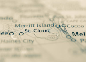 Photo of a map of St Cloud