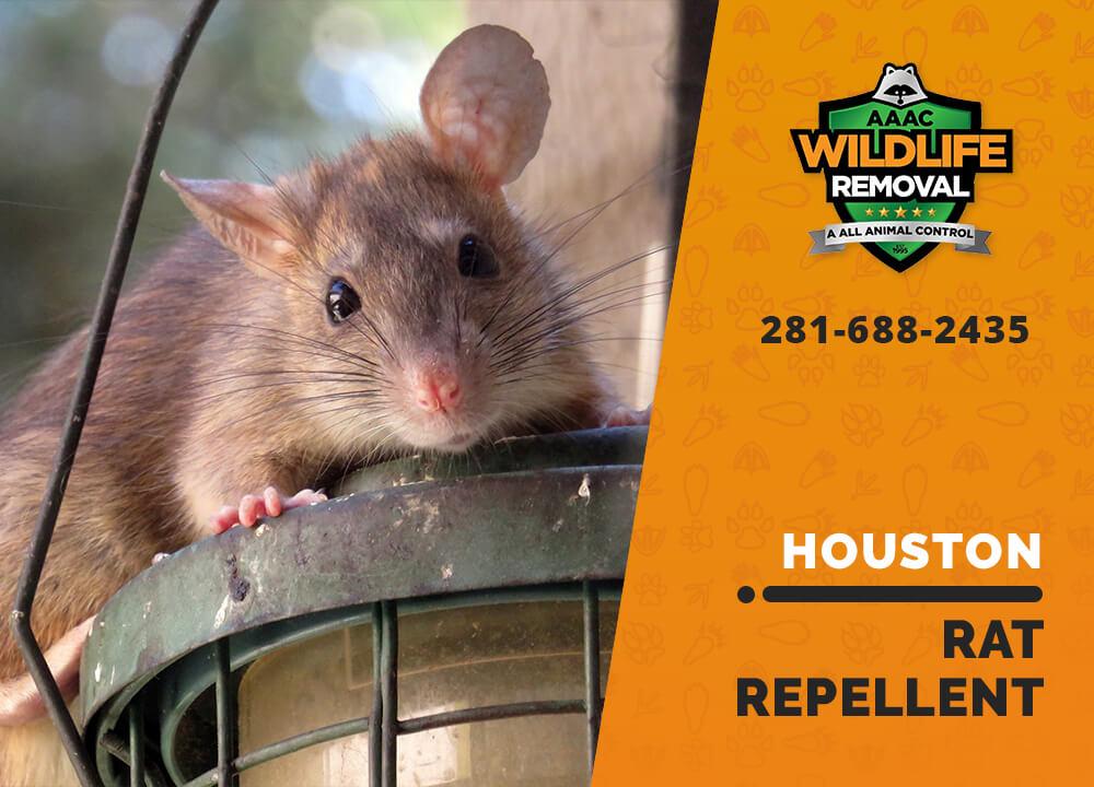 rat repellent useful houston