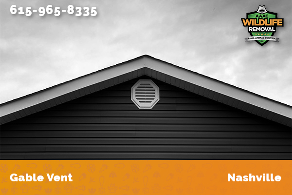 Picture of a gable vent in Nashville
